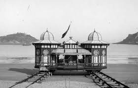 Spanish Royal Family's Beach Pavilion, 1920s