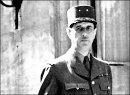 General de Gaulle, 1940