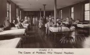 Red Cross Hospital, Napsbury, St Albans, 1915