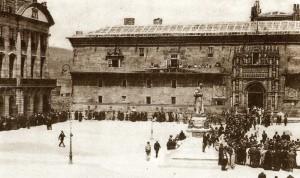 Plaza del Obradoiro, c.1930