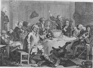 Hogarth's 18th Century Coffee House, Georgian Britain