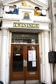 Twinings' original tea house
