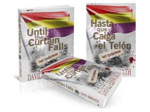 Until the Curtain Falls ~ Hasta que Caiga el Telón Book Covers image