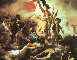 The original Marianne - the 1789 barricades