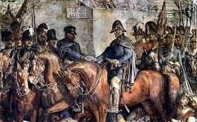 Blücher at La Belle Alliance in aftermath of battle