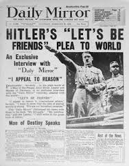 Daily Mirror's exclusive interview with Hitler, 1936