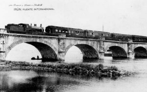 The International Bridge, Irún, 1930s