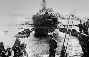 SS Stanbrook, Alicante Harbour, March 1939