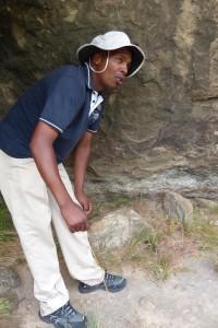 Moses Mahuli and the San Cave Drawings