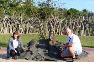 The Zulu Memorial at Rorke's Drift