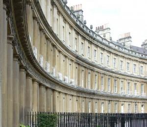Typical Georgian Terrace, London