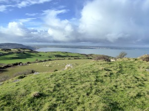 Red Wharf Bay from the Din Sylwy Ramparts